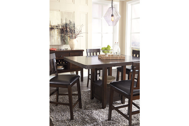 Haddigan Counter Height Dining Room Table, , large