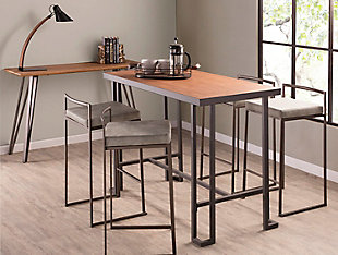 Fuji Industrial Stackable Counter Stool (Set of 2), , rollover