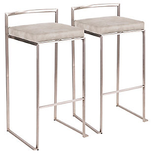 Fuji Stackable Barstool (Set of 2), , large