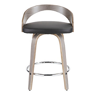 Saddle Counter Stool (Set of 2), , rollover