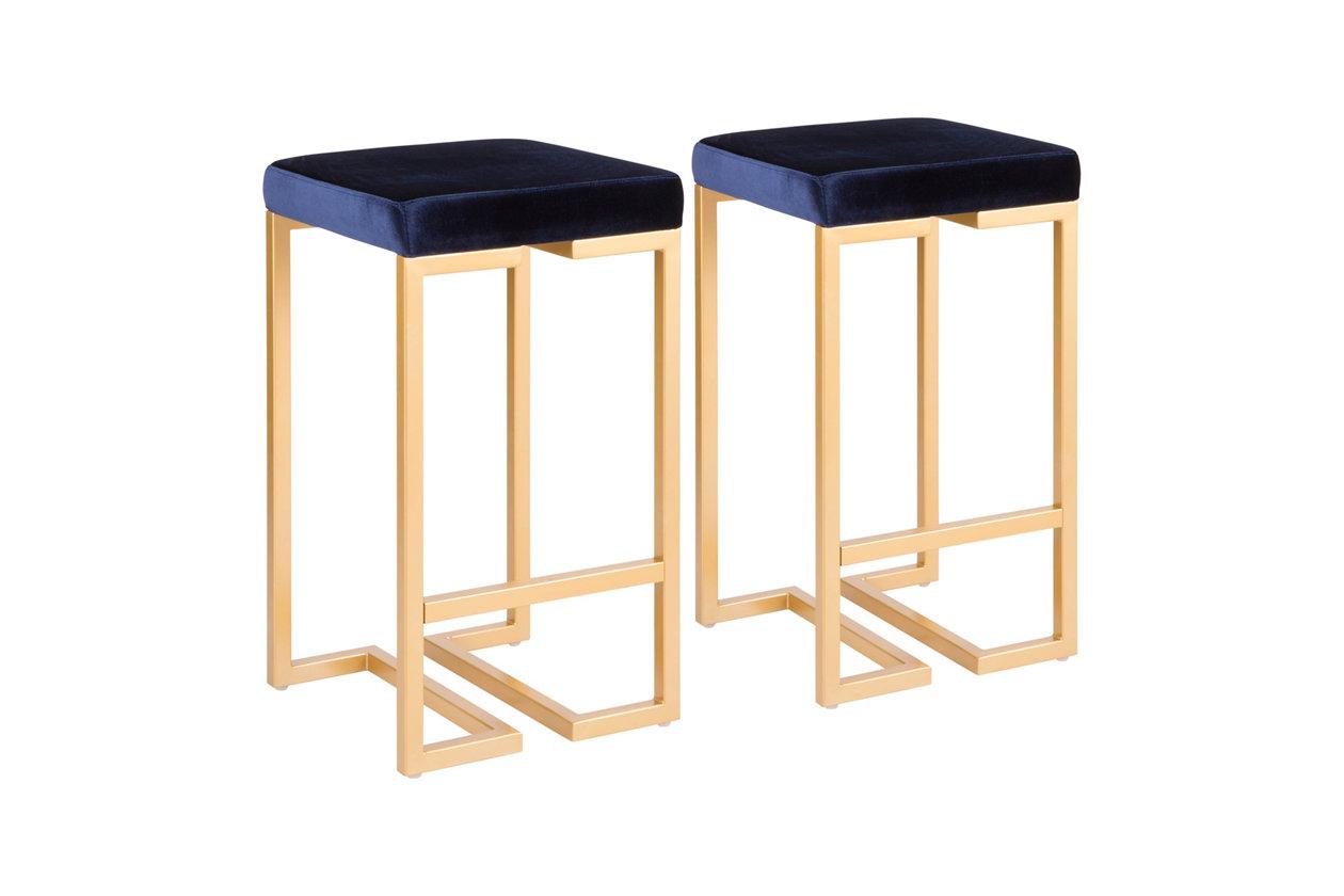 Swell Felicia 26 Counter Stool Set Of 2 Ashley Furniture Evergreenethics Interior Chair Design Evergreenethicsorg