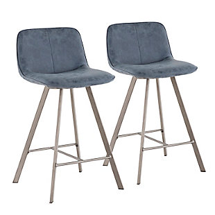 """Tabitha 26"""" Industrial Counter Stool (Set of 2), , large"""
