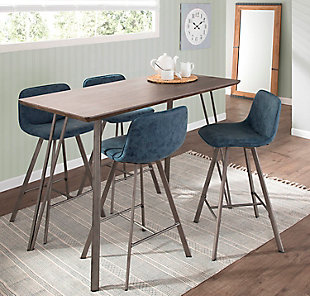 """Tabitha 26"""" Industrial Counter Stool (Set of 2), , rollover"""