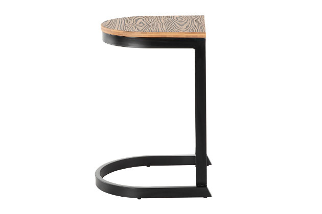 Industrial Demi Counter Stool (Set of 2), , large