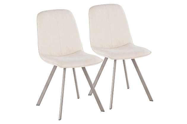 Tabitha Industrial Dining Chair (Set of 2), , large