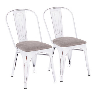 Oregon Industrial Upholstered Chair (Set of 2), , large