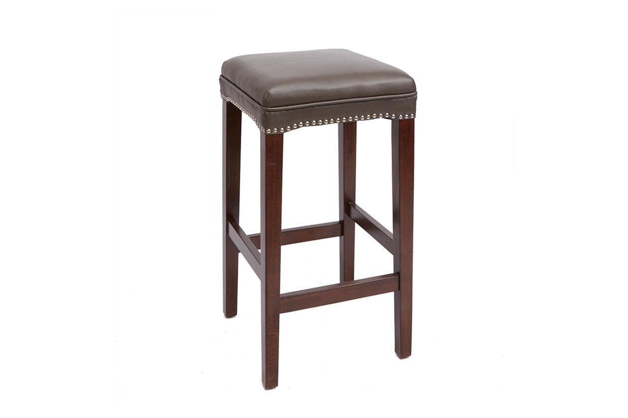 Surprising Emilion 29 Upholstered Wooden Saddle Stool Ashley Theyellowbook Wood Chair Design Ideas Theyellowbookinfo
