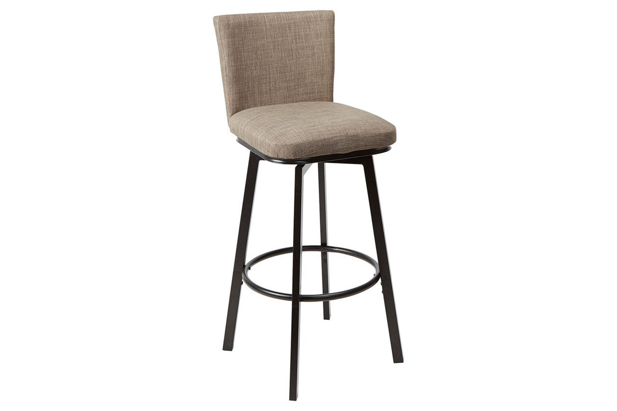Prime Robbin Upholstered Barstool With Adjustable Height Metal Gamerscity Chair Design For Home Gamerscityorg