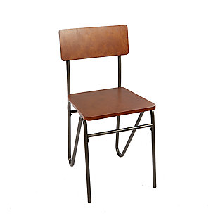 Toriano Chair with Hairpin Legs, , large