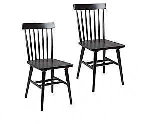 Zephs Mid-Century Modern Dining Chairs (Set of 2), , large