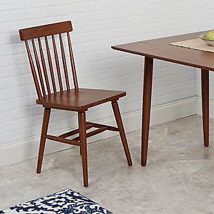 Zephs Mid-Century Modern Dining Chairs (Set of 2), , rollover