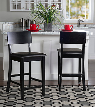 Emilion Torino Contemporary Counter Stool, , large