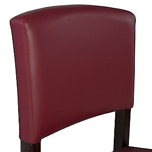 Carrie Monaco Bar Stool, Red, large