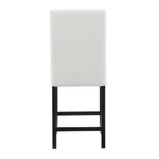 Luna Stewart Counter Stool, White, large