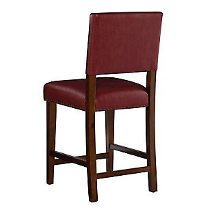 Robbin Brook Red Counter Stool, Red, large