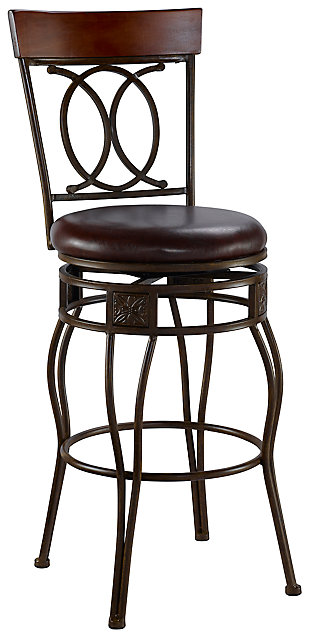 Fortunato O & X Back Bar Stool, , large