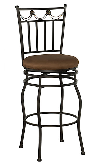 Brady Swag Bar Stool, , large
