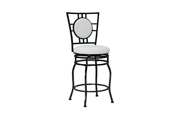 Damato Townsend Adjustable Height Bar Stool with Swivel, , large