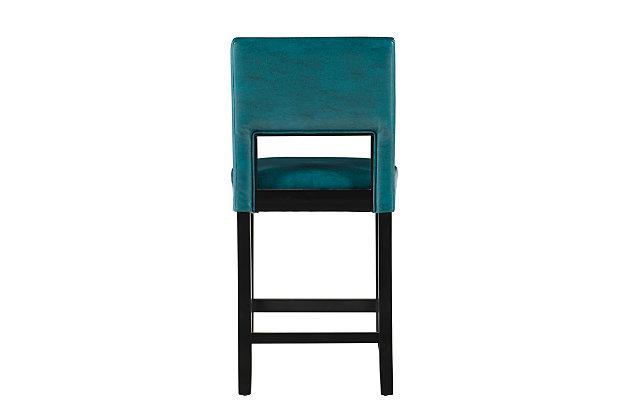 Emilion Vega Counter Stool Agean Blue, Blue, large