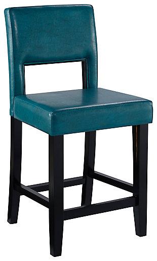 Emilion Vega Counter Stool Agean Blue, , large