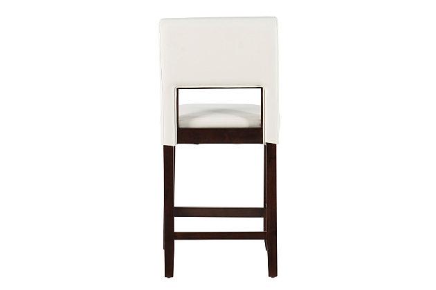 Emilion Vega Counter Stool White, White, large