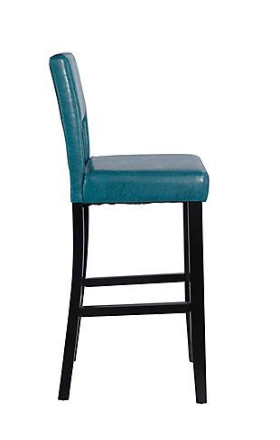 Emilion Vega Bar Stool Agean Blue, Blue, large