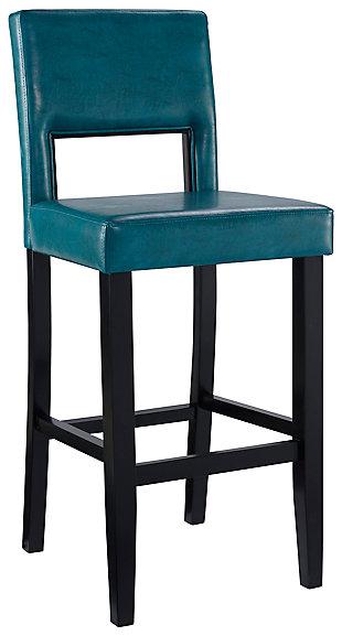 Emilion Vega Bar Stool Agean Blue, , large
