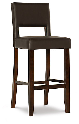 Emilion Vega Bar Stool Brown, Brown, large