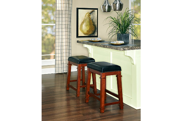 Kennedy Backless Counter Stool, , large