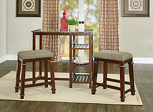 Backless Kennedy Backless Tweed Counter Stool, , large