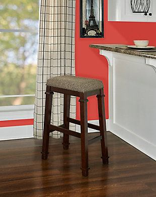Kennedy Backless Tweed Bar Stool, , rollover