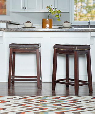 Backless Claridge Patches Brown Counter, , rollover
