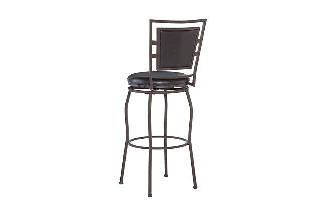 Alfred Townsend Three Piece Adjustable Stool Set, , large