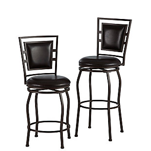 Alfred Townsend Three Piece Adjustable Stool Set, , rollover