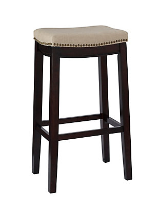 Backless Allure Fabric Top Stool, , large
