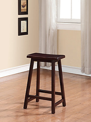 Saddle Counter Stool, , rollover