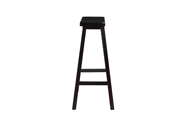 Saddle Bar Stool, , large