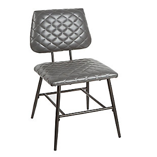 Velli Dining Chair with Diamond Stitching, , large
