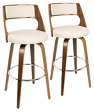 Howie Swivel Barstool (Set of 2), , large