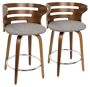 Cameron Swivel Barstool (Set of 2), , large