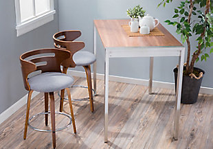 Cameron Swivel Counter Height Bar Stool (Set of 2), , rollover