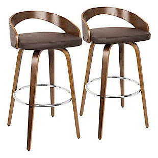 Howie Swivel Barstool (Set of 2), , rollover