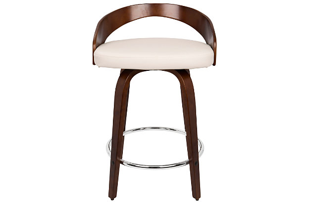 Howie Swivel Counter Stool (Set of 2), , large