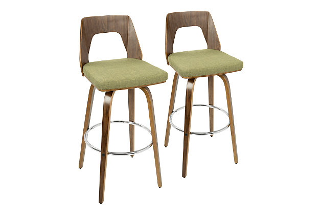 Trilogy Upholstered Barstool (Set of 2), , large