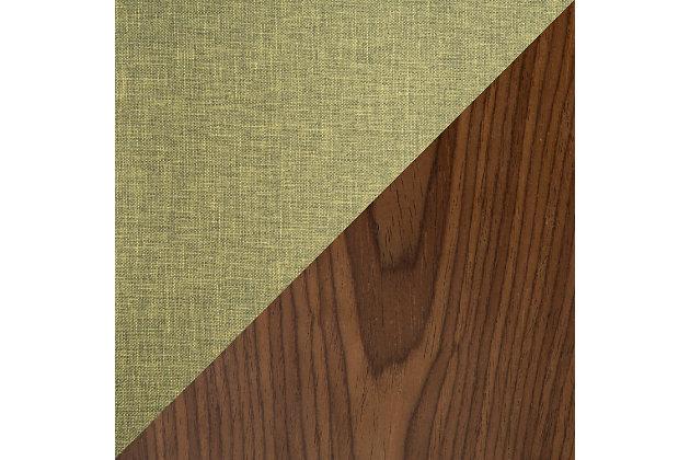 Trilogy Upholstered Barstool (Set of 2), Walnut/Pea/Chrome, large