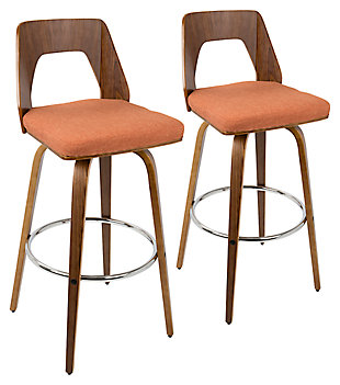 Trilogy Upholstered Barstool (Set of 2), , large