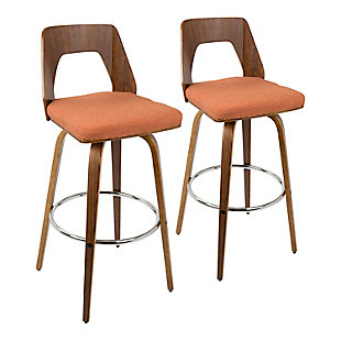Trilogy Upholstered Barstool (Set of 2), , rollover