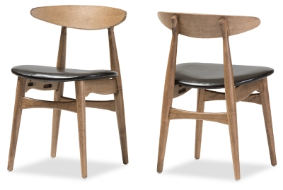 Picture of: Mid Century Modern Dining Chair Set Of 2 Ashley Furniture Homestore