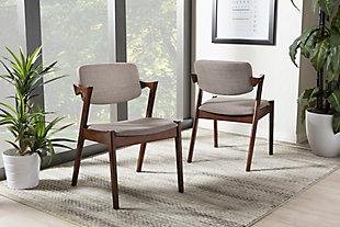 Mid Century Modern Dining Armchair (Set of 2), , rollover
