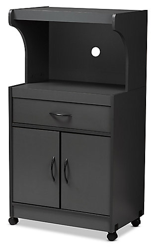 Modern Kitchen Cabinet, Charcoal, large